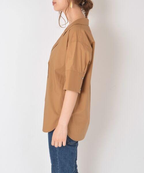SHIPS for women / シップスウィメン シャツ・ブラウス   Prefer SHIPS:オープンカラーシャツ   詳細2