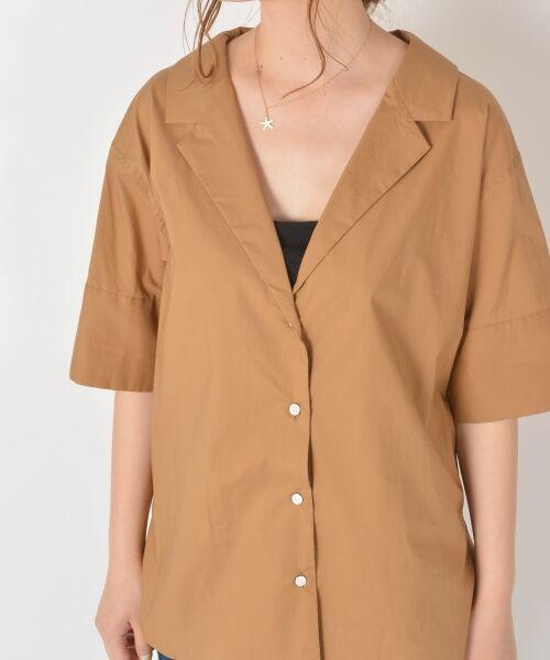 SHIPS for women / シップスウィメン シャツ・ブラウス   Prefer SHIPS:オープンカラーシャツ   詳細4