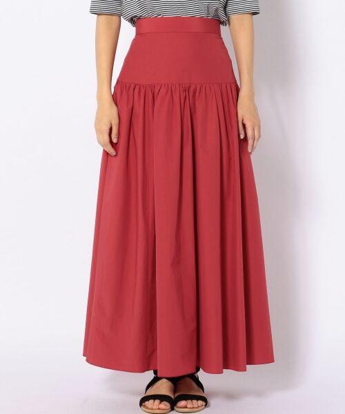 SHIPS for women / シップスウィメン ロング・マキシ丈スカート | Prefer SHIPS: タフタマキシスカート | 詳細1