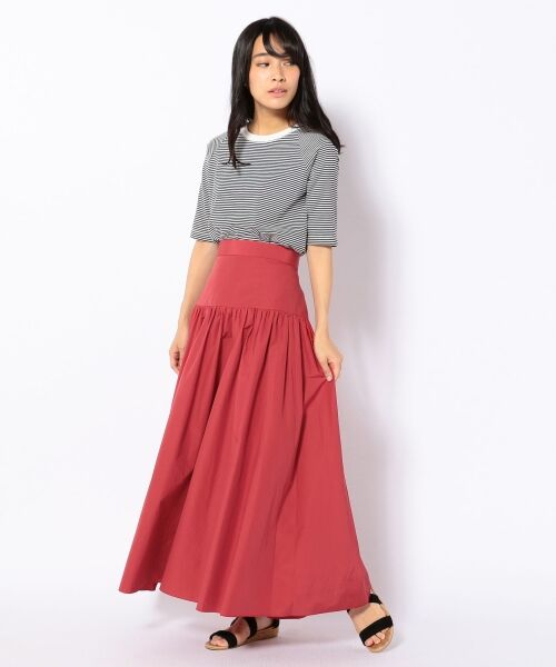 SHIPS for women / シップスウィメン ロング・マキシ丈スカート | Prefer SHIPS: タフタマキシスカート | 詳細4