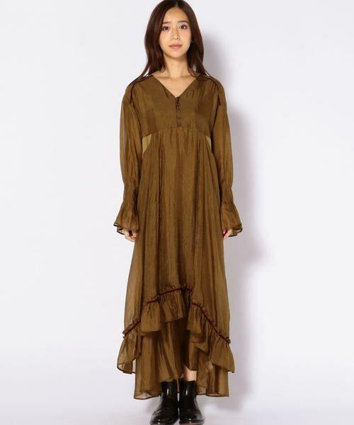 SHIPS for women / シップスウィメン ロング・マキシ丈ワンピース | muller of yoshiokubo:【SHIPS別注】ドレス | 詳細3