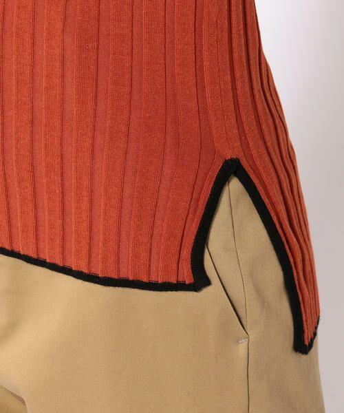 SHIPS for women / シップスウィメン ニット・セーター | Prefer SHIPS: カラーコンビリブニット | 詳細8