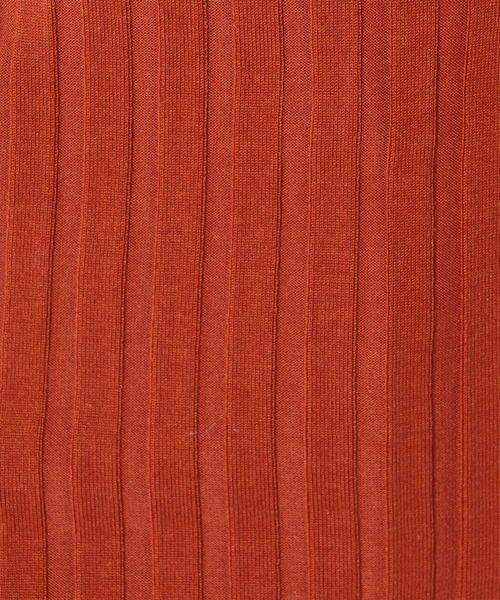 SHIPS for women / シップスウィメン ニット・セーター | Prefer SHIPS: カラーコンビリブニット | 詳細9
