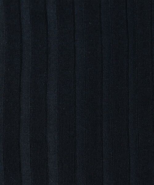 SHIPS for women / シップスウィメン ニット・セーター | Prefer SHIPS: カラーコンビリブニット | 詳細10