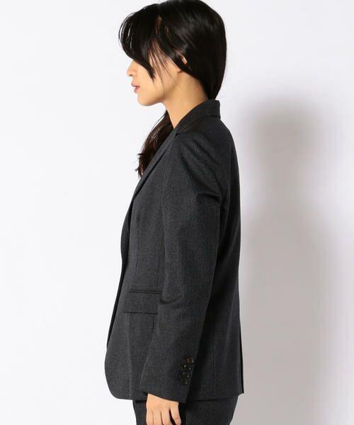 SHIPS for women / シップスウィメン テーラードジャケット | PrimaryNavyLabel:ストライプジャケット | 詳細2