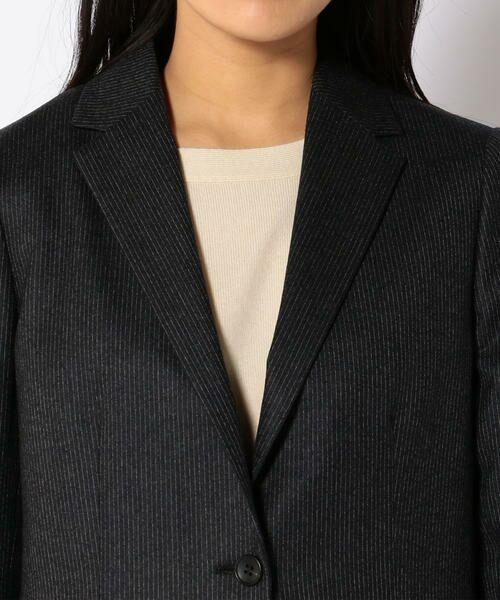 SHIPS for women / シップスウィメン テーラードジャケット | PrimaryNavyLabel:ストライプジャケット | 詳細5