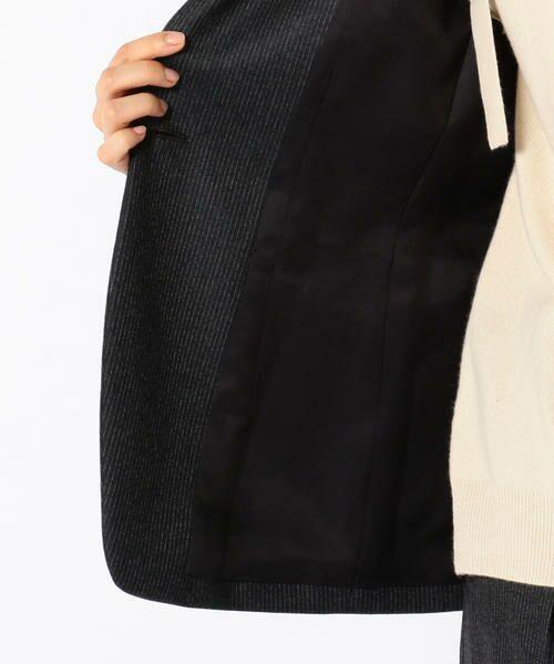 SHIPS for women / シップスウィメン テーラードジャケット | PrimaryNavyLabel:ストライプジャケット | 詳細8