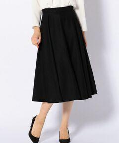 ウールフレアスカート27-0001