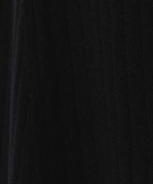 SHIPS for women / シップスウィメン ショート・ハーフ・半端丈パンツ | Prefer SHIPS:リブフレアパンツ | 詳細1