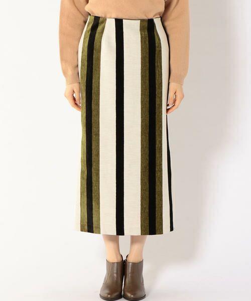 SHIPS for women / シップスウィメン ミニ・ひざ丈スカート | Prefer SHIPS: マルチストライプスカート | 詳細3