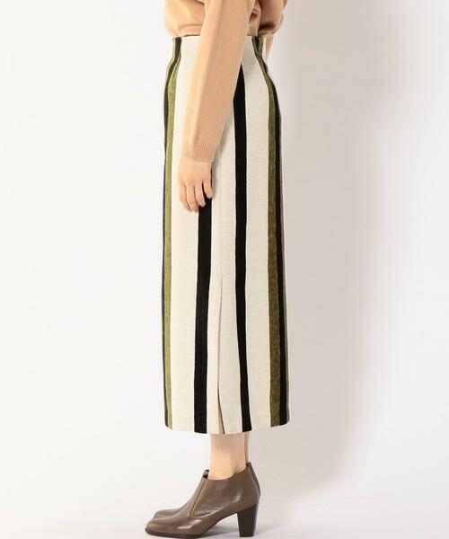 SHIPS for women / シップスウィメン ミニ・ひざ丈スカート | Prefer SHIPS: マルチストライプスカート | 詳細4