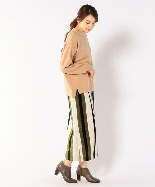 SHIPS for women / シップスウィメン ミニ・ひざ丈スカート | Prefer SHIPS: マルチストライプスカート | 詳細6