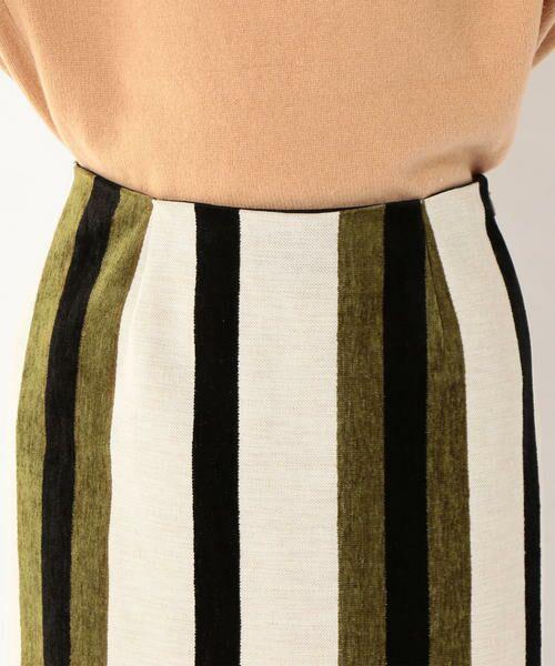 SHIPS for women / シップスウィメン ミニ・ひざ丈スカート | Prefer SHIPS: マルチストライプスカート | 詳細7
