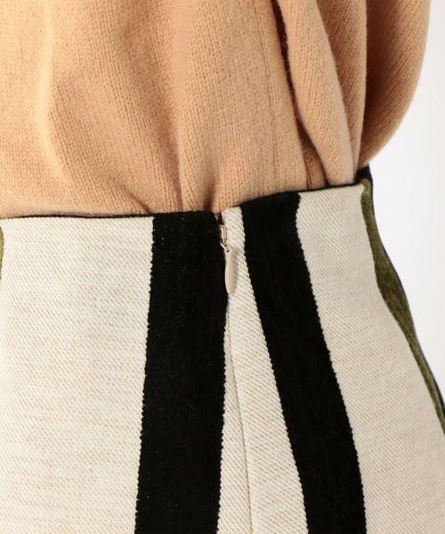 SHIPS for women / シップスウィメン ミニ・ひざ丈スカート | Prefer SHIPS: マルチストライプスカート | 詳細8