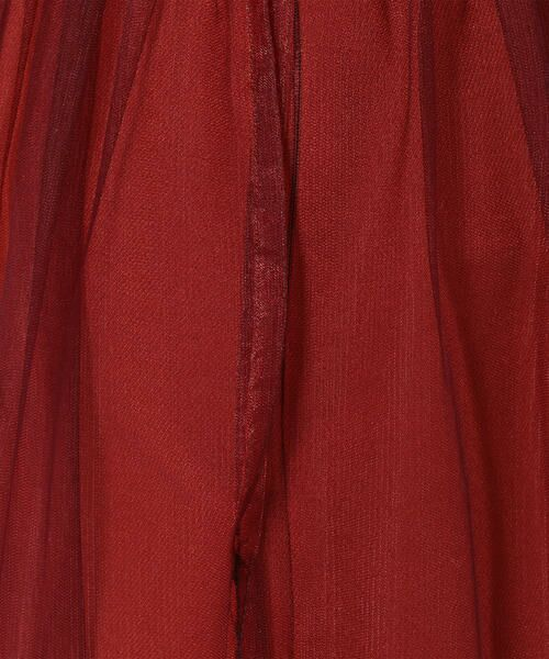 SHIPS for women / シップスウィメン ロング・マキシ丈スカート | Prefer SHIPS: チュールレイヤードギャザースカート | 詳細10