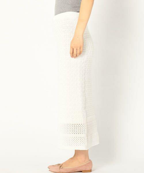 SHIPS for women / シップスウィメン ロング・マキシ丈スカート | Prefer SHIPS: かぎ編みスカート | 詳細2