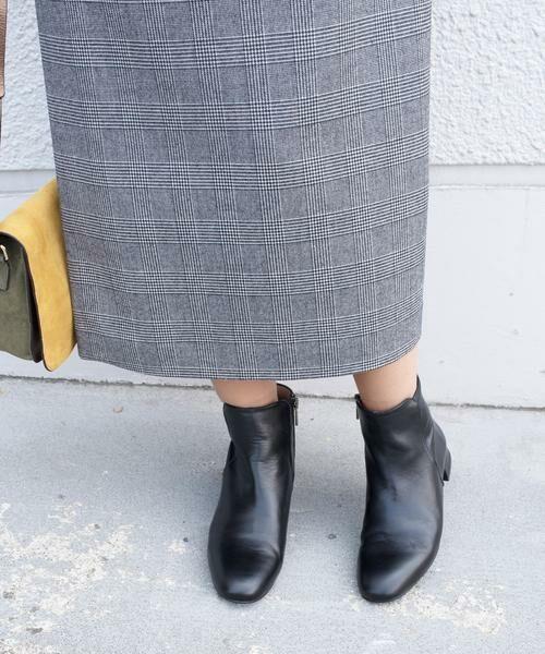 SHIPS for women / シップスウィメン ブーツ(ショート丈) | MARIAN:サイドジップフラットショートブーツ◇ | 詳細2