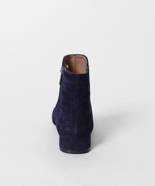 SHIPS for women / シップスウィメン ブーツ(ショート丈) | 《予約》MARIAN:サイドジップフラットショートブーツ◆ | 詳細12