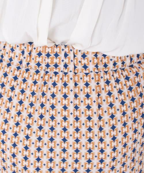 SHIPS for women / シップスウィメン ロング・マキシ丈スカート | DEVEAUXプリントティアードスカート◇《手洗い可能》 | 詳細13