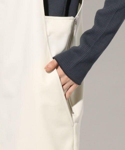 SHIPS for women / シップスウィメン ロング・マキシ丈ワンピース | 【手洗い可能】ジャンパースカート◇ | 詳細8