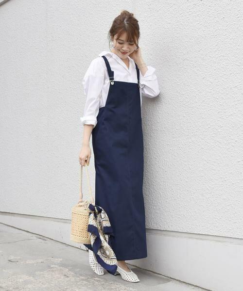 【手洗い可能】ジャンパースカート