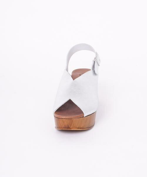 SHIPS for women / シップスウィメン サンダル | ENESS:Vカットウエッジサンダル◇ | 詳細8