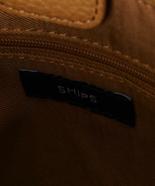 SHIPS for women / シップスウィメン ショルダーバッグ | ネジリハンドルトートバッグ | 詳細24