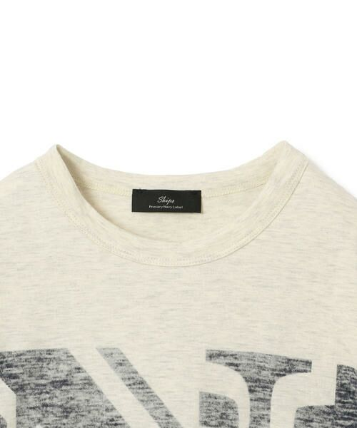 SHIPS for women / シップスウィメン Tシャツ | helder:コットンNプリントTEE | 詳細1