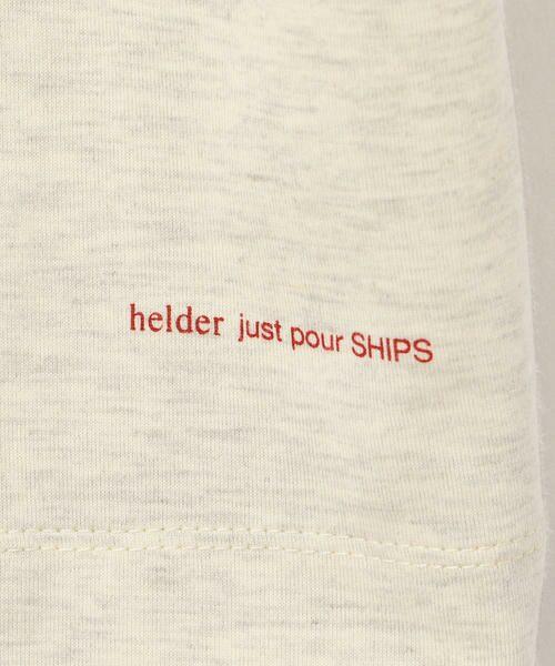 SHIPS for women / シップスウィメン Tシャツ | helder:コットンNプリントTEE | 詳細7