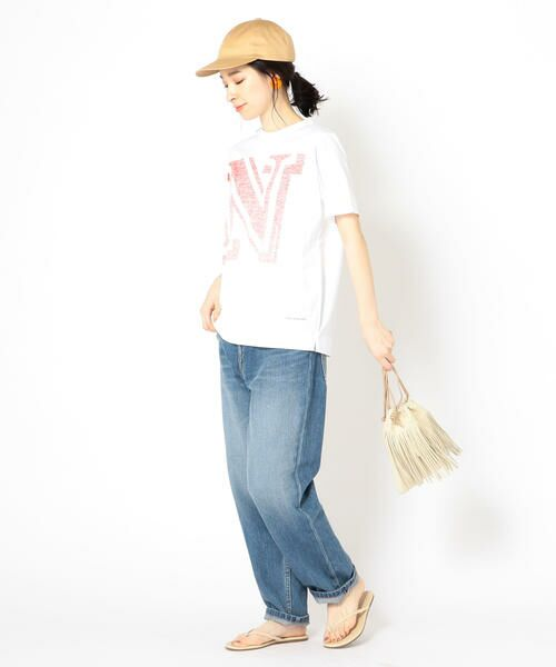 SHIPS for women / シップスウィメン Tシャツ | helder:コットンNプリントTEE | 詳細11