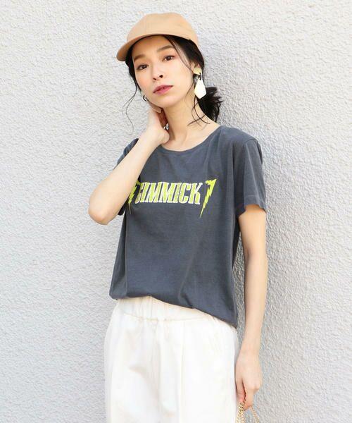 SHIPS for women / シップスウィメン Tシャツ   プリントTEE◇   詳細4