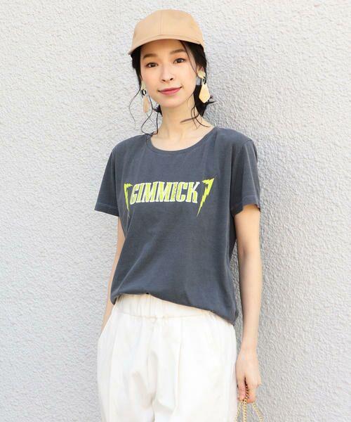 SHIPS for women / シップスウィメン Tシャツ   プリントTEE◇   詳細5