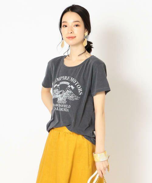 SHIPS for women / シップスウィメン Tシャツ   プリントTEE◇   詳細7