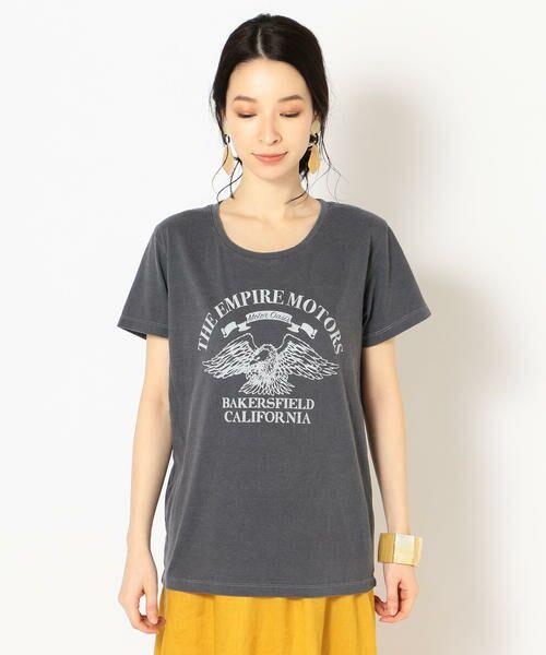 SHIPS for women / シップスウィメン Tシャツ   プリントTEE◇   詳細9