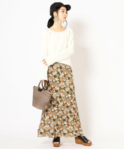 SHIPS for women / シップスウィメン ロング・マキシ丈スカート | DEVEAUX マーメイドスカート | 詳細12
