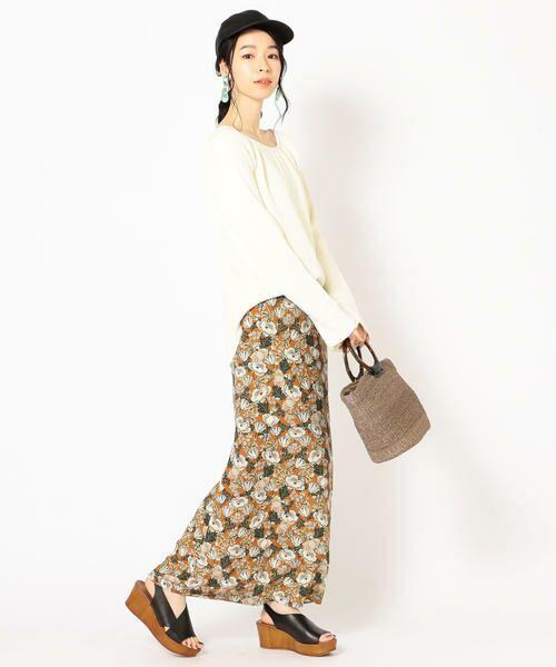 SHIPS for women / シップスウィメン ロング・マキシ丈スカート | DEVEAUX マーメイドスカート | 詳細13