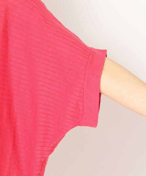 SHIPS for women / シップスウィメン ニット・セーター | 【手洗い可能】シルクリネンドルマンスリーブプルオーバー◇ | 詳細25