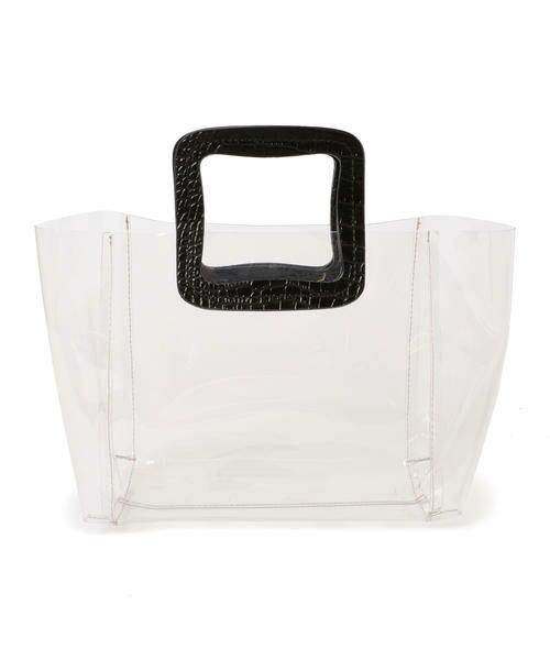 SHIPS for women / シップスウィメン トートバッグ | ANITA BILARDI :2WAY PVCバッグ | 詳細12