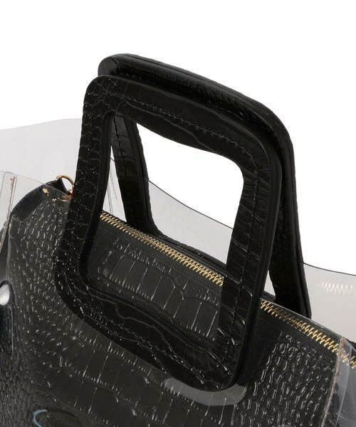 SHIPS for women / シップスウィメン トートバッグ | ANITA BILARDI :2WAY PVCバッグ | 詳細6