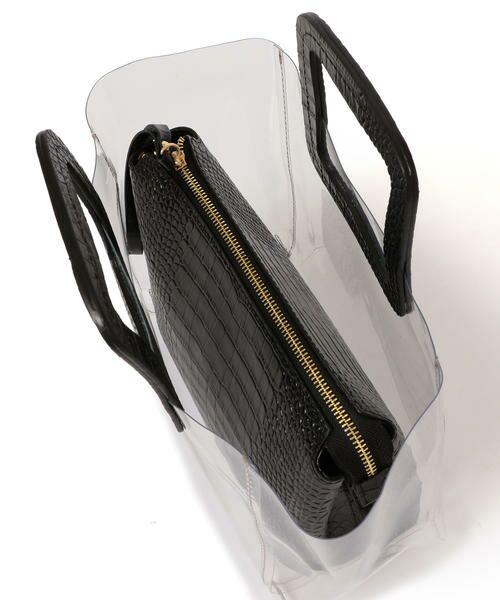 SHIPS for women / シップスウィメン トートバッグ | ANITA BILARDI :2WAY PVCバッグ | 詳細8