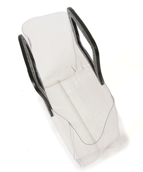 SHIPS for women / シップスウィメン トートバッグ | ANITA BILARDI :2WAY PVCバッグ | 詳細9