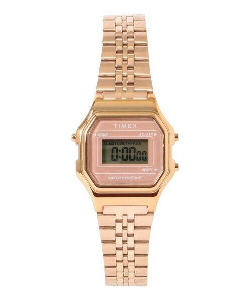SHIPS for women / シップスウィメン 腕時計 | TIMEX:CLASSIC DIGITAL MINI(ピンク)