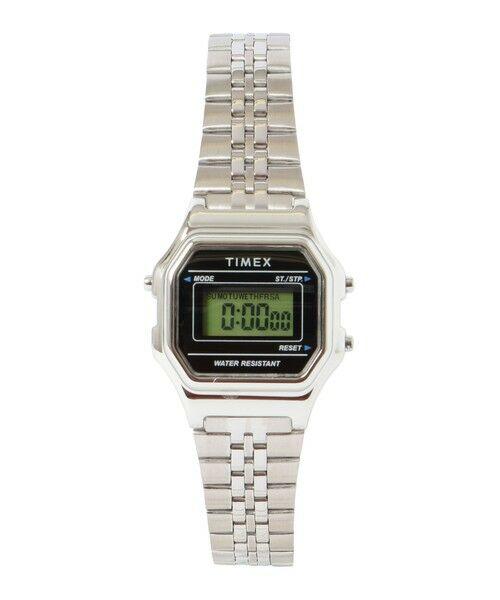 SHIPS for women / シップスウィメン 腕時計 | TIMEX:CLASSIC DIGITAL MINI(シルバー)
