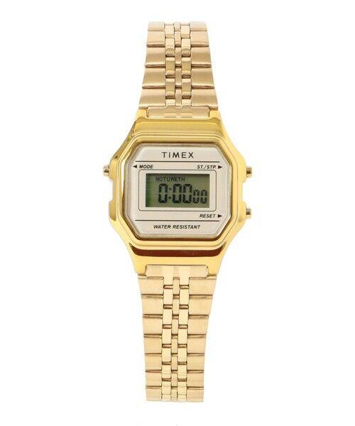 SHIPS for women / シップスウィメン 腕時計 | TIMEX:CLASSIC DIGITAL MINI(ゴールド)