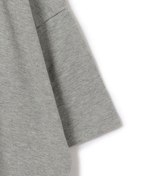 SHIPS for women / シップスウィメン Tシャツ   カレッジビッグTee   詳細6