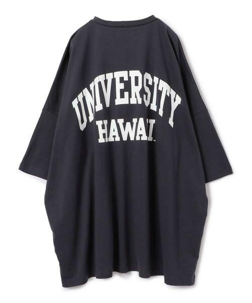 SHIPS for women / シップスウィメン Tシャツ   カレッジビッグTee   詳細14