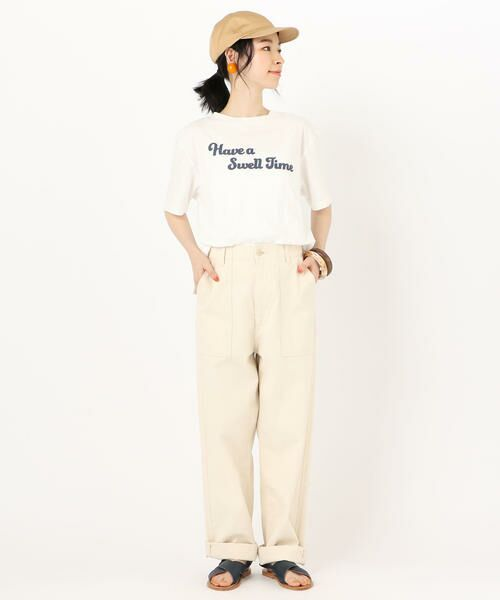 SHIPS for women / シップスウィメン Tシャツ | 81BRANCA: ロゴTEE | 詳細3