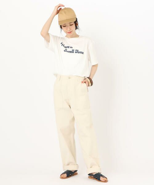 SHIPS for women / シップスウィメン Tシャツ | 81BRANCA: ロゴTEE | 詳細4