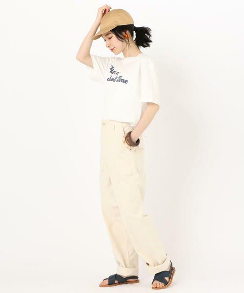 SHIPS for women / シップスウィメン Tシャツ | 81BRANCA: ロゴTEE | 詳細5