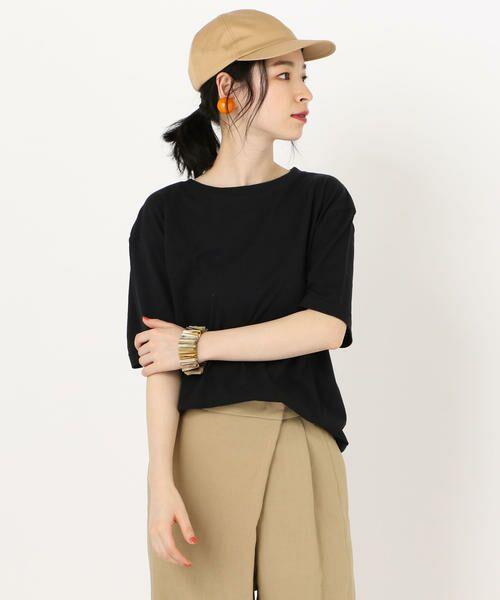 SHIPS for women / シップスウィメン Tシャツ | 81BRANCA: ロゴTEE | 詳細11